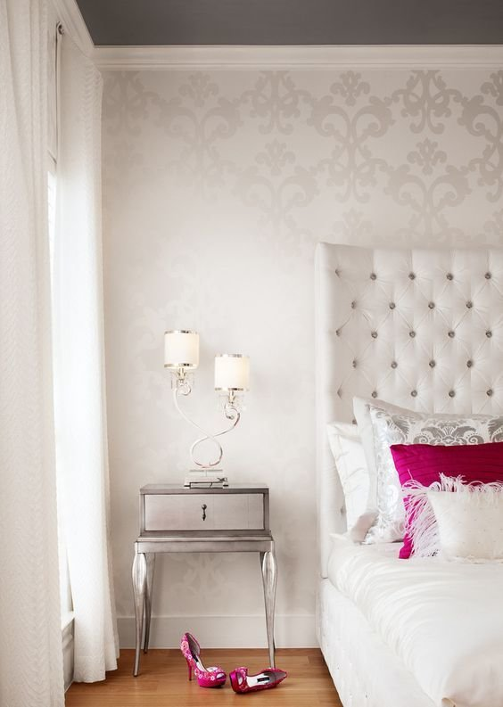 Best 31 Wallpaper Accent Walls That Are Worth Pinning Digsdigs With Pictures