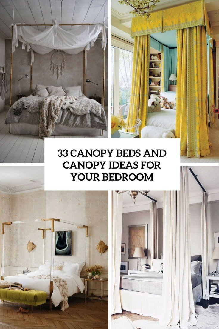 Best 33 Canopy Beds And Canopy Ideas For Your Bedroom Digsdigs With Pictures
