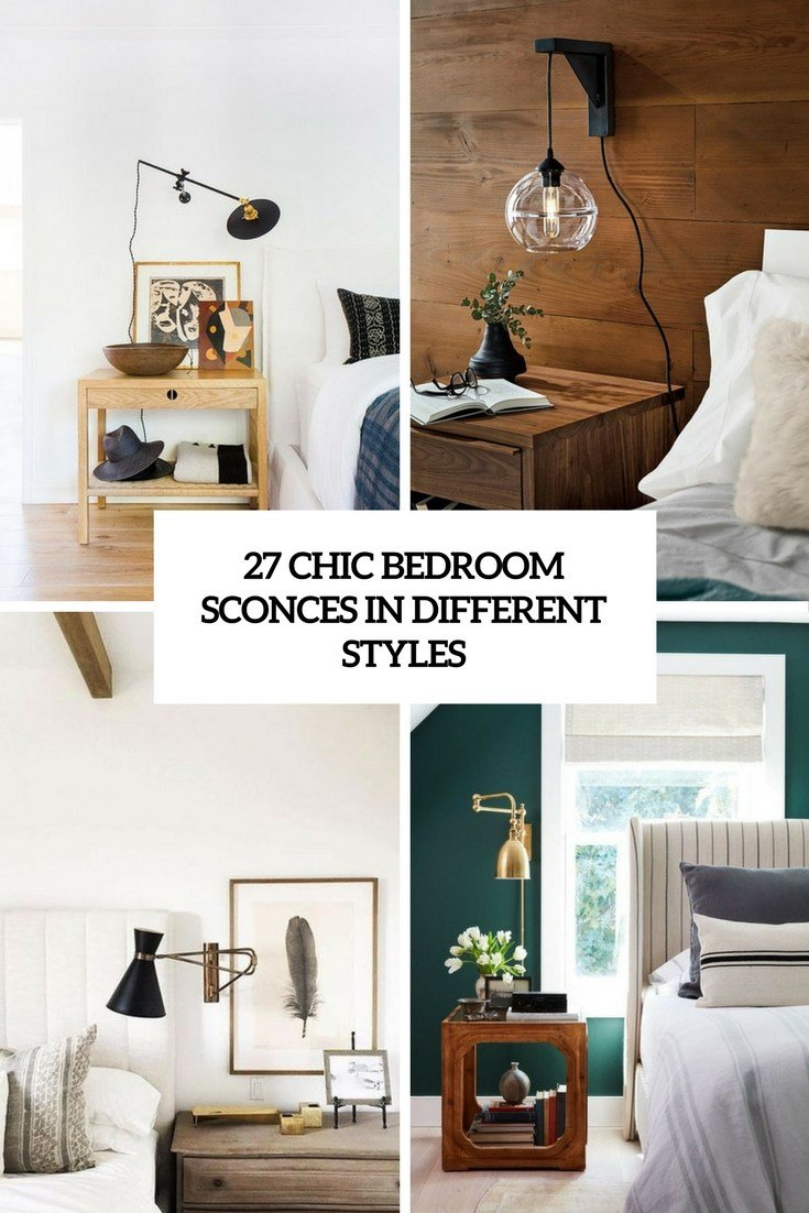Best 27 Chic Bedroom Sconces In Different Styles Digsdigs With Pictures