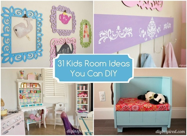 Best 31 Kids Room Ideas You Can Diy Diy Inspired With Pictures