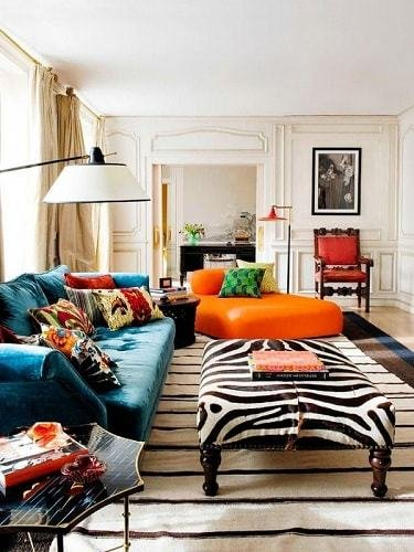 Best 17 Teal And Orange Living Room Ideas For The Cloudless With Pictures