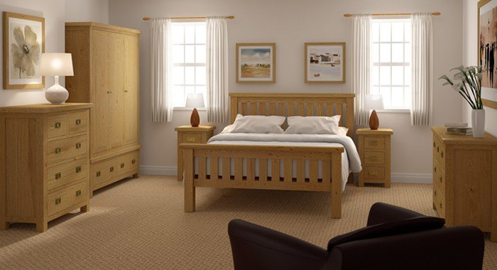 Best Mondri Rustic Oak Bedroom Furniture Furniture For Modern With Pictures