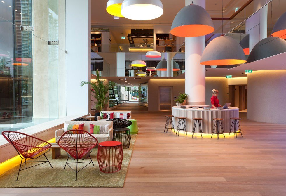 Best Qt Gold Coast Hotel Cool Surfer Chic In Australia Idesignarch Interior Design With Pictures