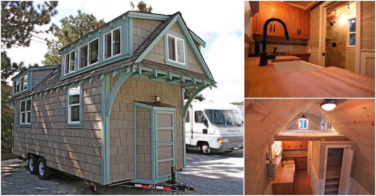 Best Tranquil Two Bedroom Tiny House From California Builders With Pictures