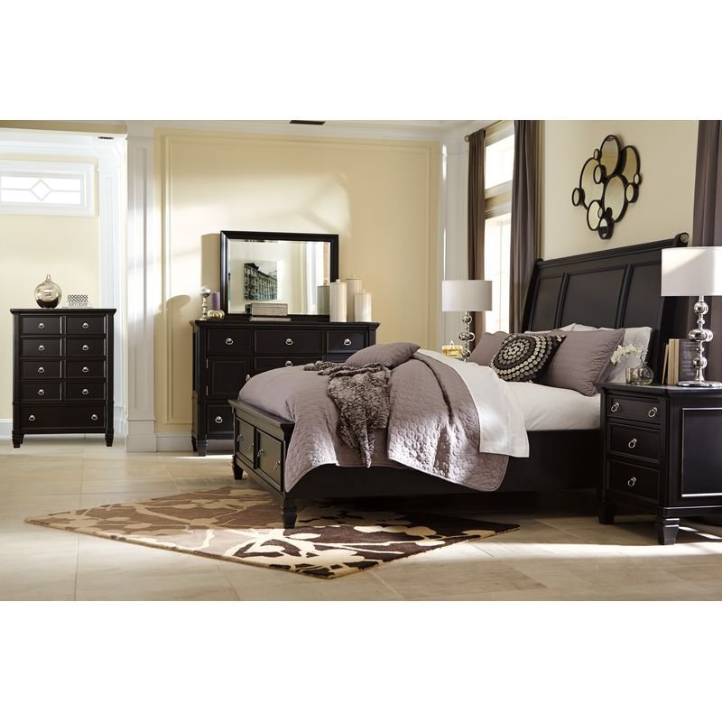 Best Greensburg Bedroom Group King Sleigh Jack S Warehouse With Pictures