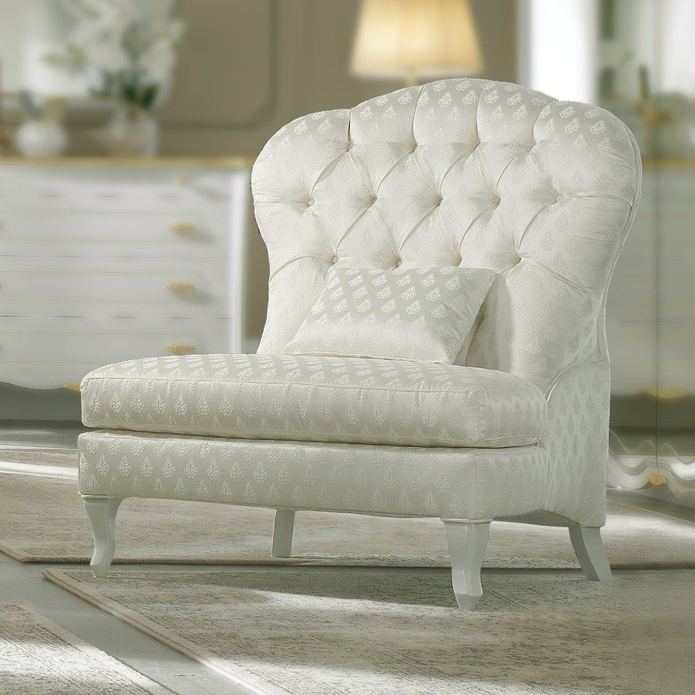 Best Elegant Italian Round Lounge Chair Juliettes Interiors With Pictures