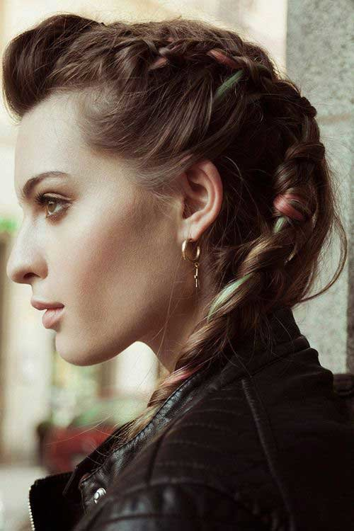 Free 20 Punk Rock Hairstyles For Long Hair Hairstyles And Wallpaper