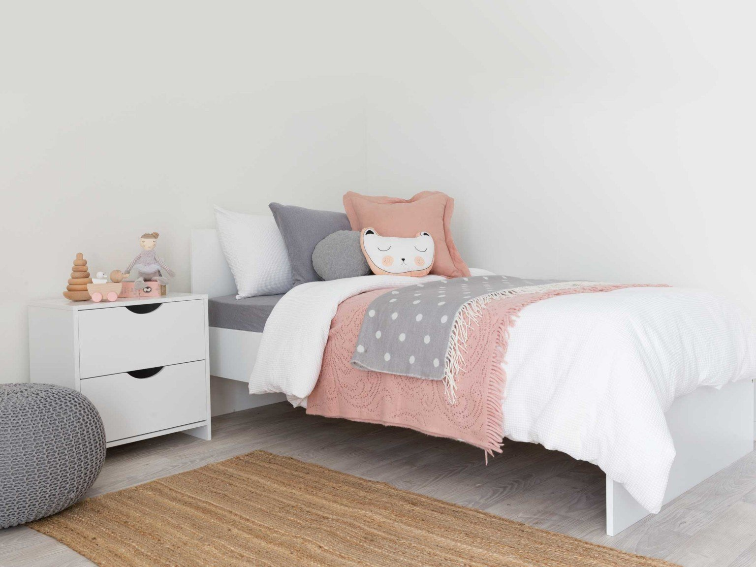 Best Mocka Brooklyn Single Bed Children S Bedroom Furniture With Pictures