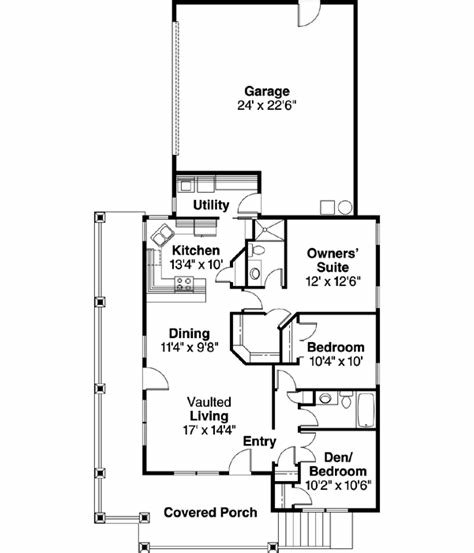 Best Country House Plan 3 Bedrooms 2 Bath 1265 Sq Ft Plan 17 650 With Pictures