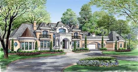 Best European House Plan 7 Bedrooms 7 Bath 15079 Sq Ft Plan With Pictures