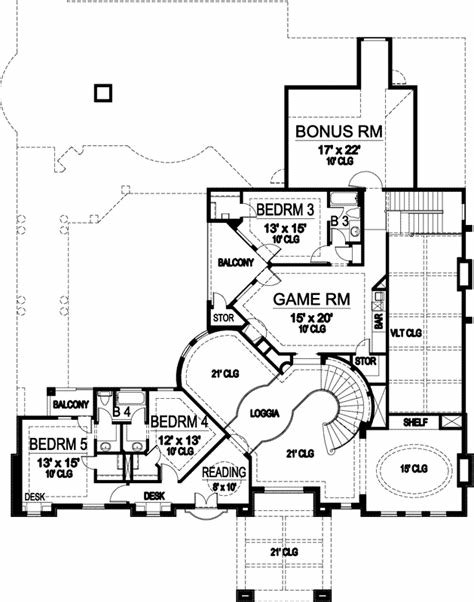 Best Luxury House Plan 5 Bedrooms 4 Bath 5933 Sq Ft Plan 63 250 With Pictures