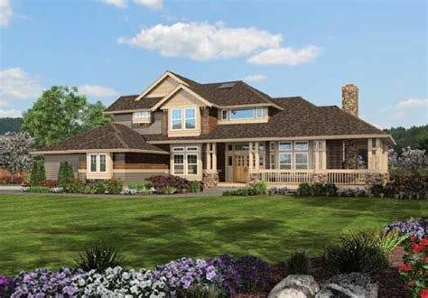 Best Craftsman House Plan 4 Bedrooms 2 Bath 2770 Sq Ft Plan With Pictures