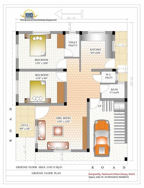 Best Find Out 600 Sq Ft House Plans 2 Bedroom Indian — Awesome With Pictures