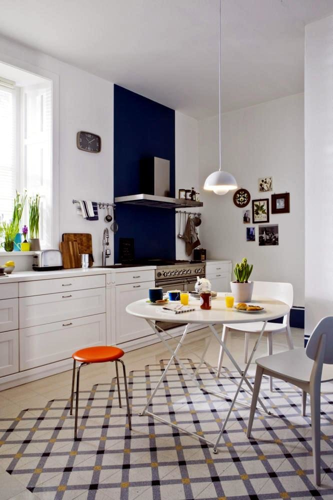 Best Bright Kitchen With A Classic Danish Design Interior With Pictures