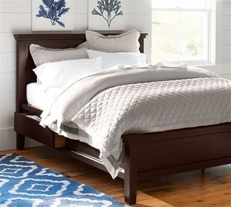 Best Farmhouse Storage Bed Pottery Barn With Pictures