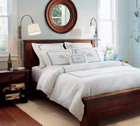 Best Sumatra Bed Dresser Set Pottery Barn With Pictures