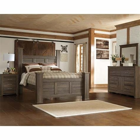 Best Rent To Own Ashley Juararo 6 Piece Queen Bedroom Set With Pictures