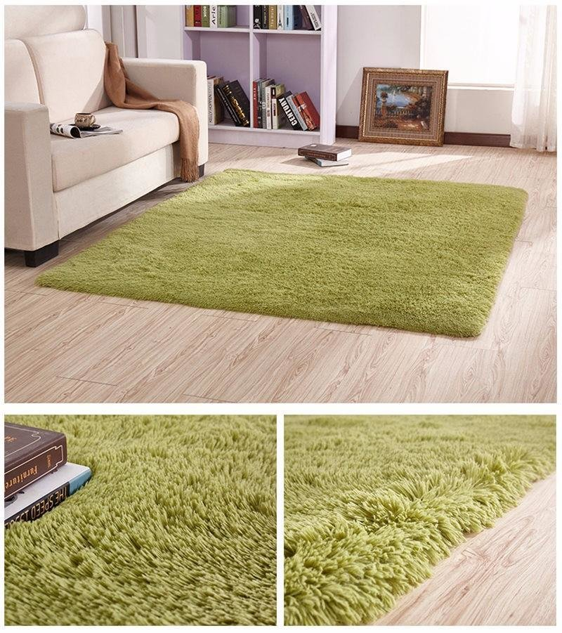 Best Carpet Warm Mat Washable Bedroom Living Room Teapoy With Pictures