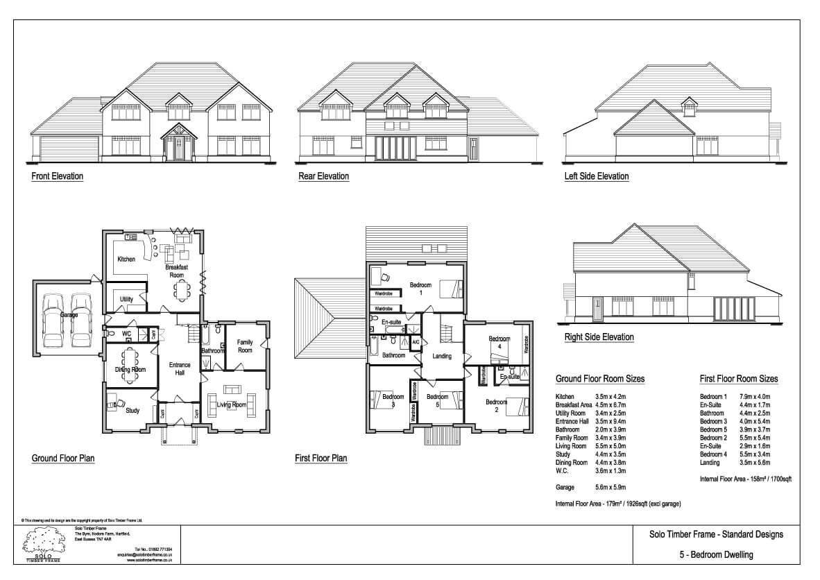 Best Vachery 5 Bedroom House Design Designs Solo Timber Frame With Pictures