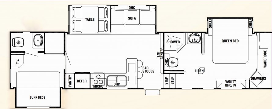 Best Two Bedroom Fifth Wheel Sportntalks Home Design With Pictures