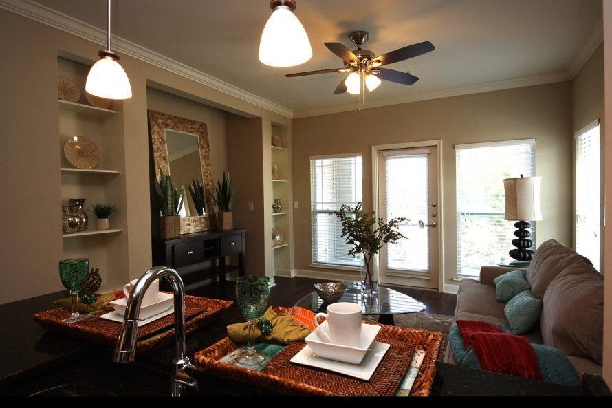 Best Incredible One Bedroom Apartments Columbia Mo Part 4 Dji 0471Sm Feature Kitchen1 With Pictures