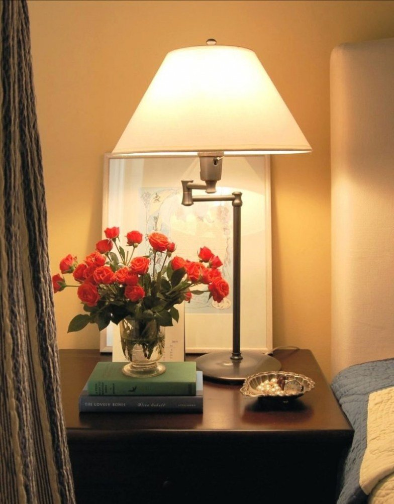 Best Bedside Table Lamps Small Brokeasshome Com With Pictures