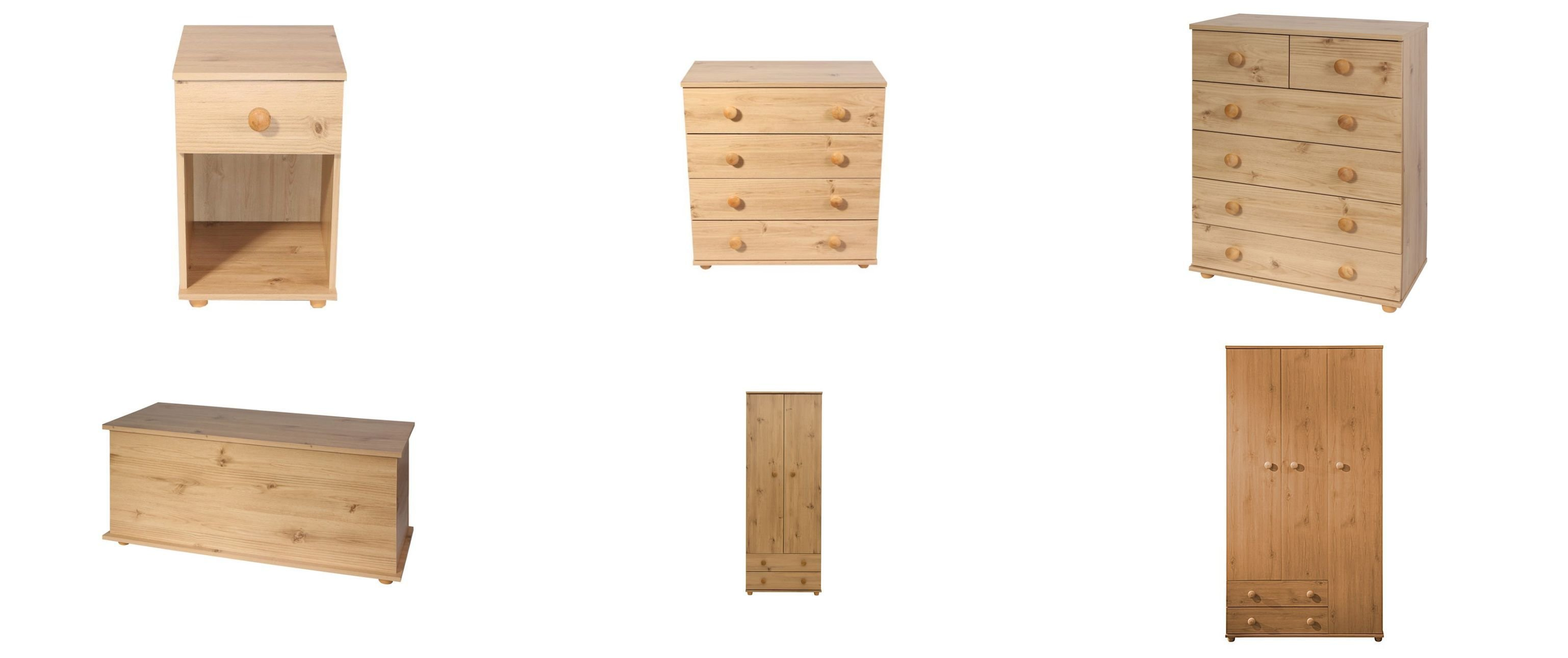 Best Cambridge Pine Effect Bedroom Furniture Chest Of Drawers With Pictures