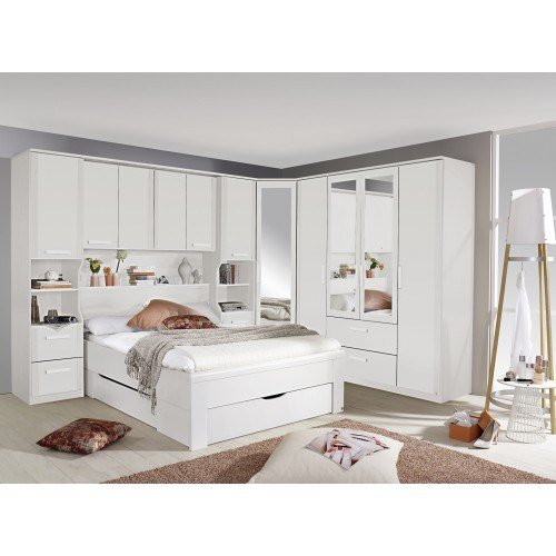 Best Over Bed Storage Units Simplybedrooms Com With Pictures