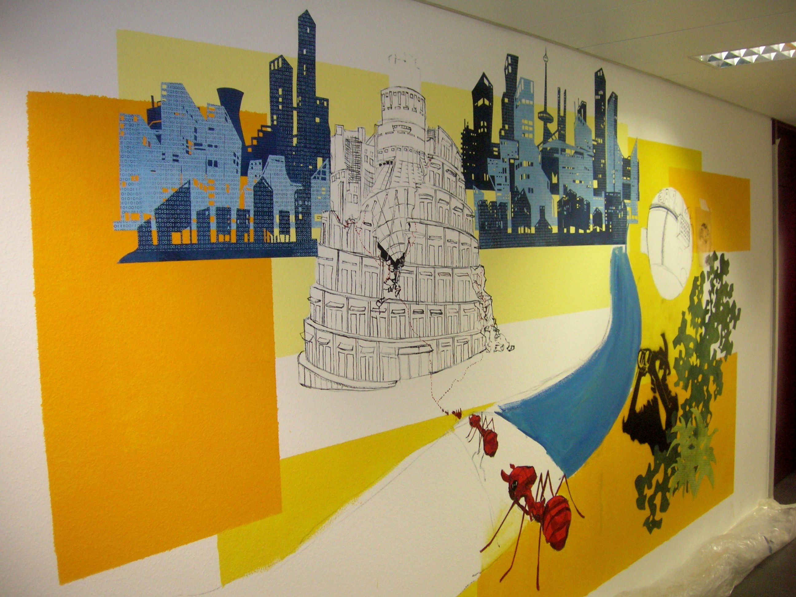Best Beautiful Office Wall Painting Ideas – Weneedfun With Pictures