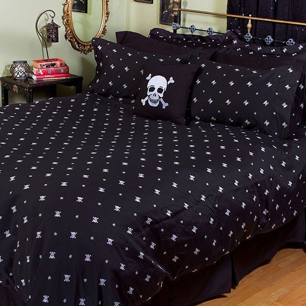 Best Skull Crossbones Bedding The Awesomer With Pictures