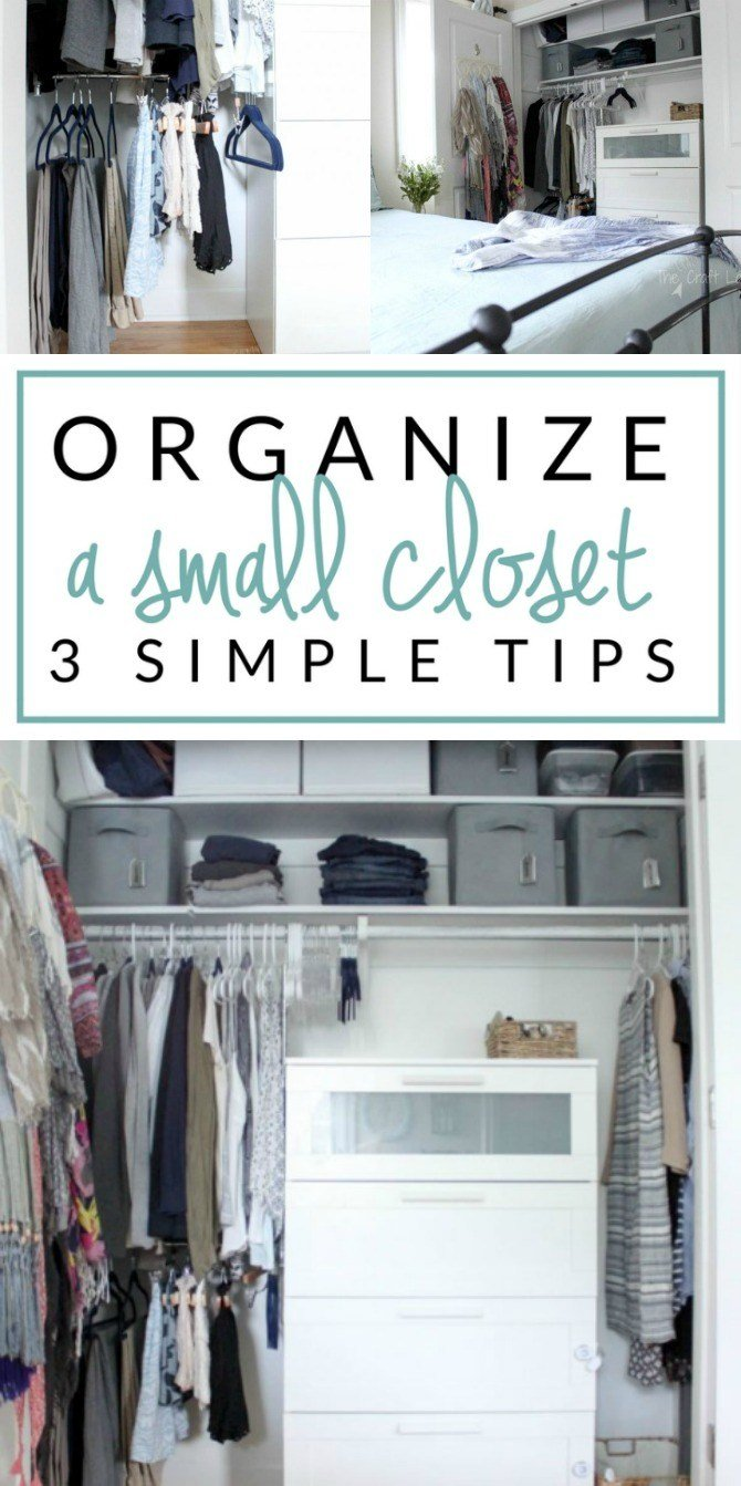 Best Small Closet Organizing 101 The Crazy Craft Lady With Pictures