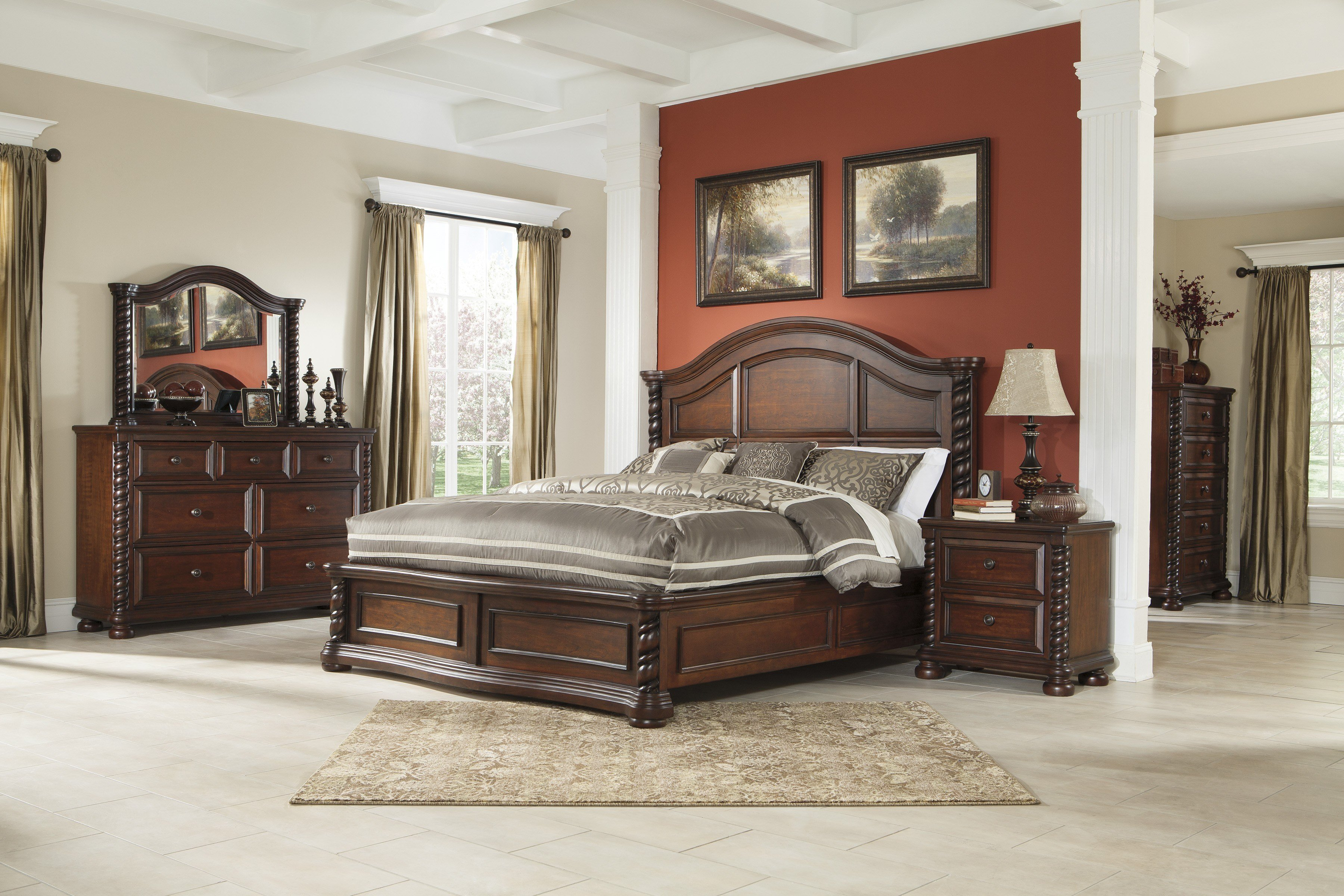 Best Brennville Bedroom Set By Ashley Furniture Depot Red With Pictures