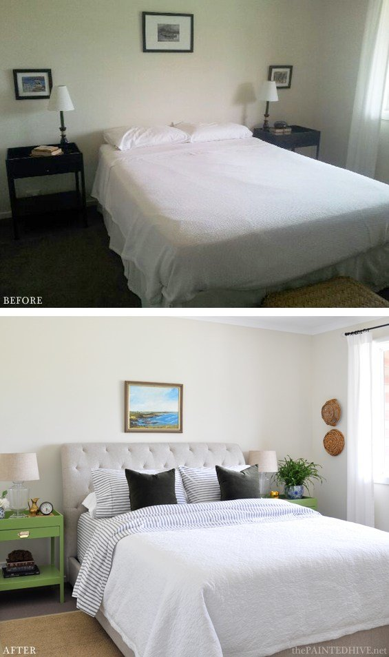 Best An Impromptu Coastal Bedroom Makeover Before After With Pictures