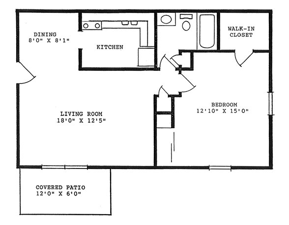 Best 760 Square Feet One Bedroom Tippecanoe Apartments With Pictures