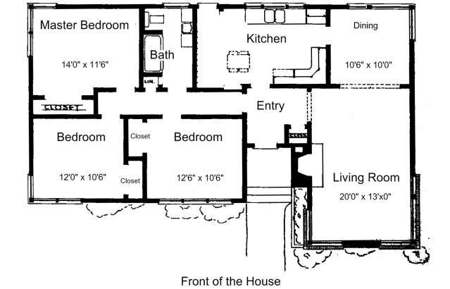Best Simple 3 Bedroom House Plans 3 Bedroom House Plans Free Small House Drawings Treesranch Com With Pictures