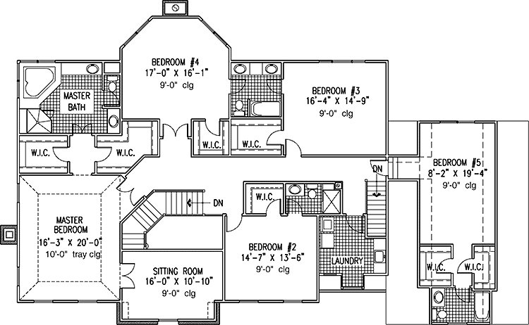 Best 6 Bedroom House Plans Blueprints Affordable 6 Bedroom With Pictures