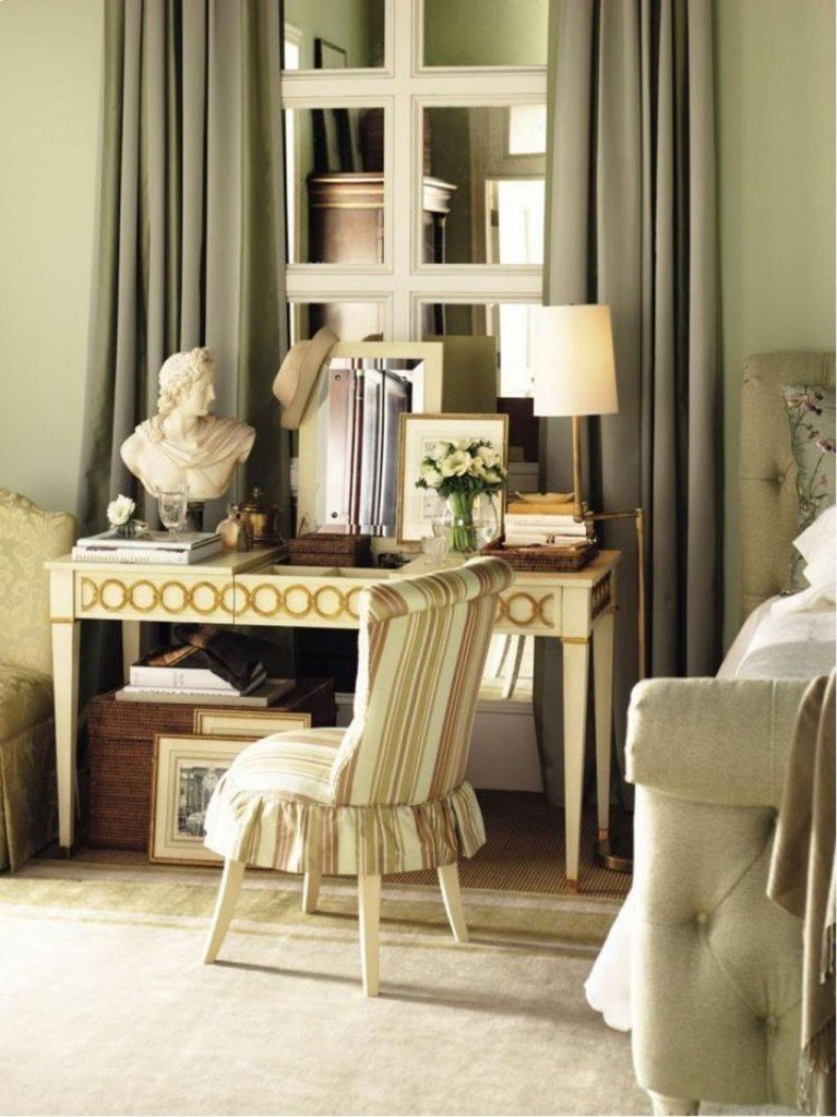 Best 20 Vanity Chairs With Skirt To Complement Classic Bedrooms With Pictures