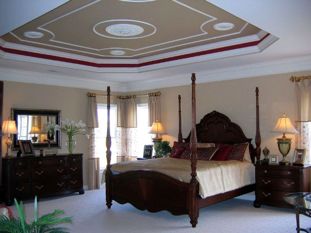 Best 20 Elegant Modern Tray Ceiling Bedroom Designs With Pictures
