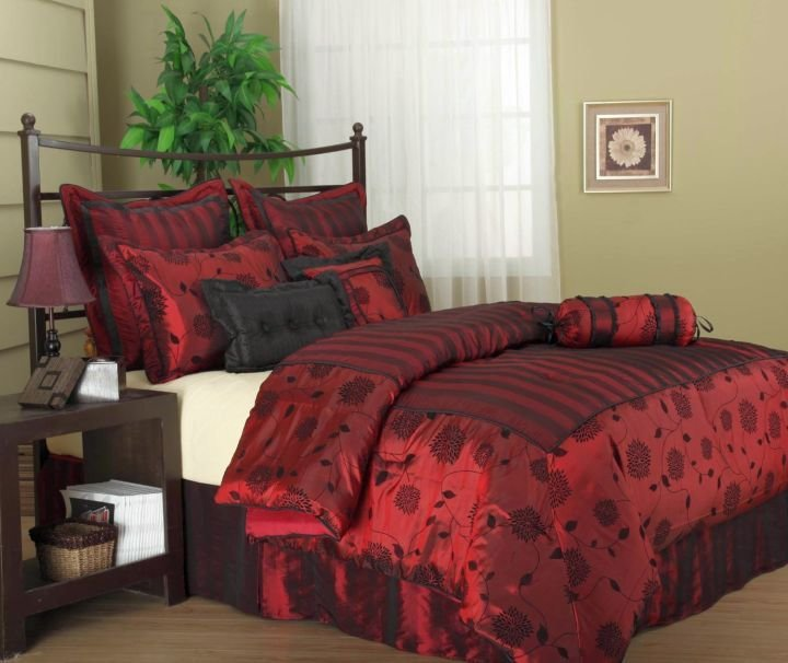 Best 17 Great Black And Red Bedroom Paint Design Ideas With Pictures