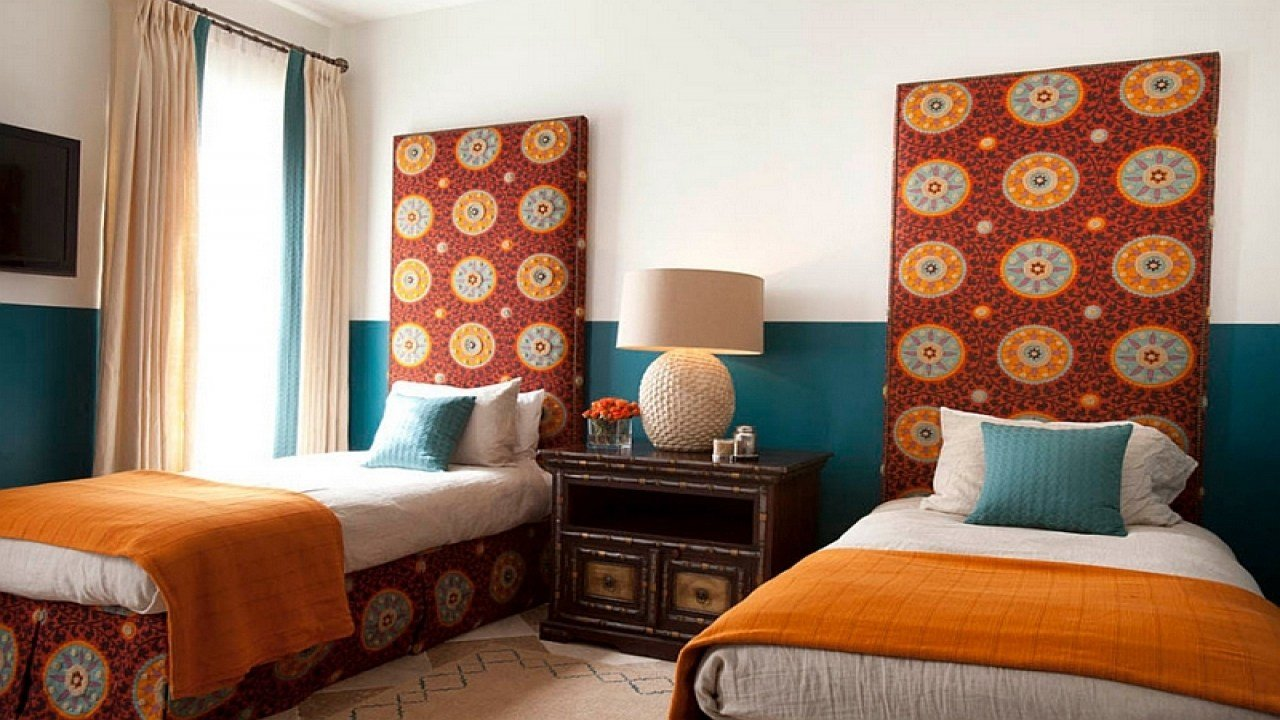 Best Moroccan Inspired Rooms Double Complementary Color Scheme With Pictures