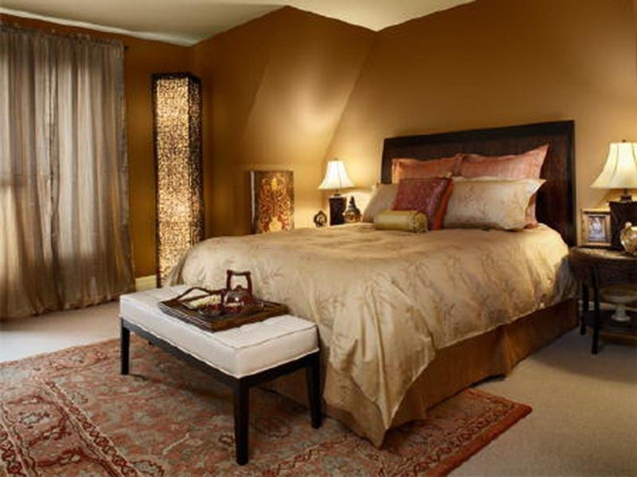 Best Blue And Gray Bedrooms Calming Bedroom Paint Colors With Pictures