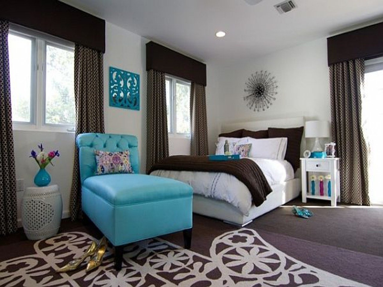 Best Bathroom Color Schemes Beige Turquoise And Brown Bedroom With Pictures