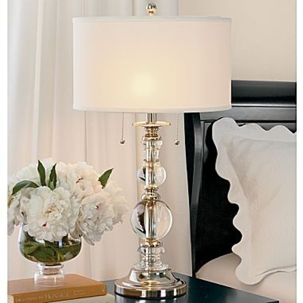 Best Bedroom With White Shade Table Lamp Tips For Using Table With Pictures