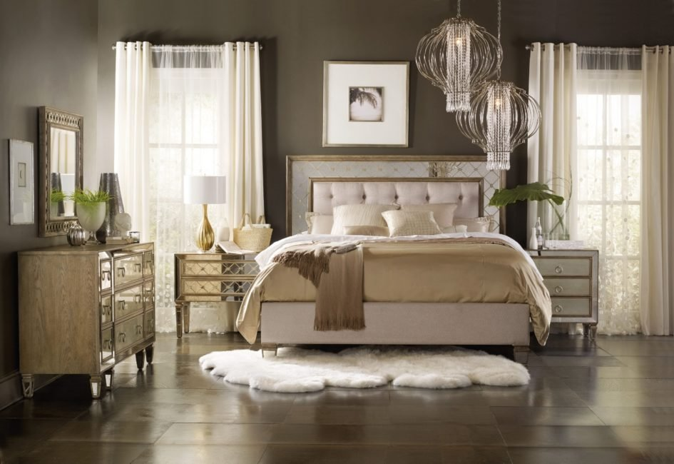 Best Cheap Mirrored Bedroom Furniture Parquet Floor Lighted By With Pictures