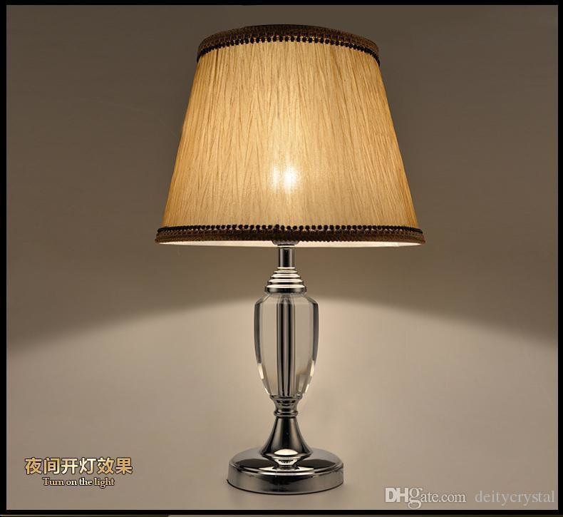 Best High End Crystal Table Lamps For Bedroom Luxury Crystal With Pictures