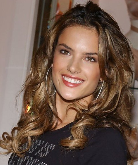 Free 24 Alessandra Ambrosio Hairstyles Celebrity Alessandra Wallpaper