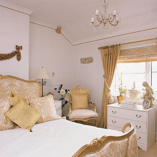 Best Gold And White Bedroom Ideas المرسال With Pictures