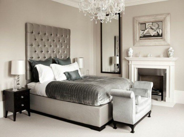 Best 14 Silver Bedroom Designs For Royal Look In The Home With Pictures
