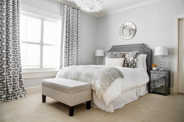 Best 19 Beautiful Bedroom Designs With Grey Walls With Pictures