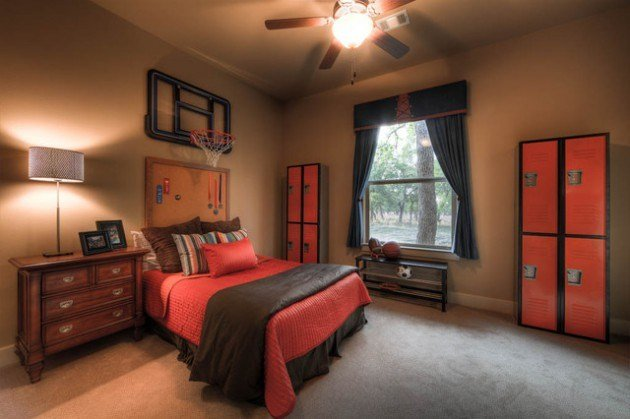 Best 14 Awesome Basketball Themed Rooms For Your Youngsters With Pictures